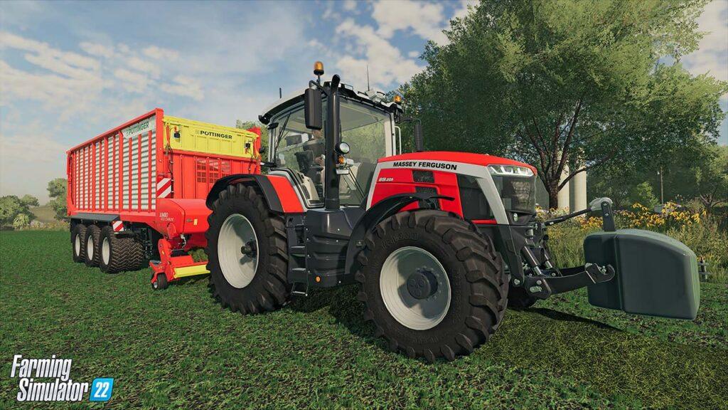 Odotettu maatilasimulaatio Farming Simulator 22 julkaistaan marraskuussa uusin